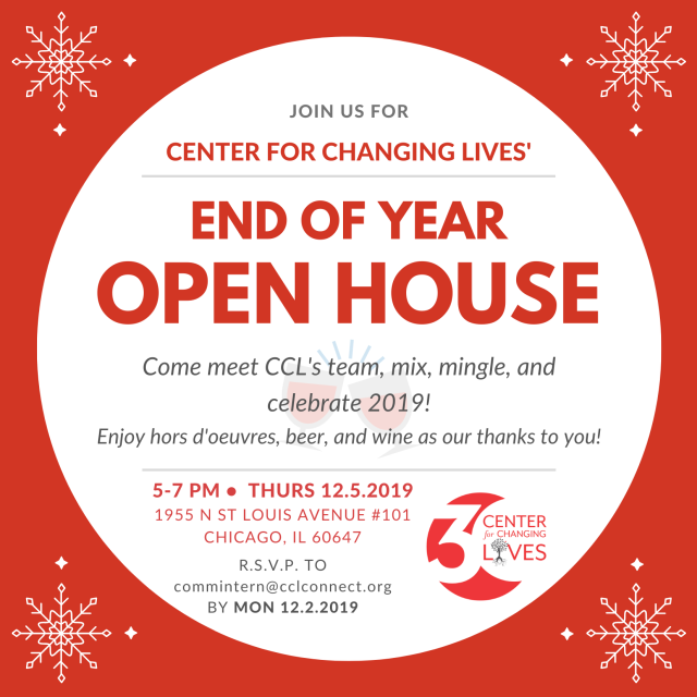 CCL December Open House